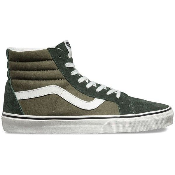 Vans 2 Tone SK8-Hi Reissue ( 65) ❤ liked on Polyvore featuring men s  fashion 327629163