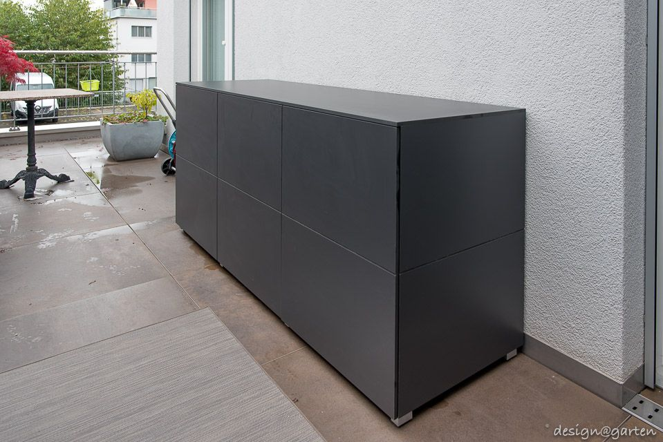 Balkonschrank Terrassenschrank Beeferschrank Win By Design