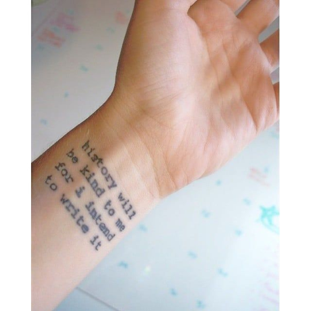 Photo of 44 Quote Tattoos That Will Change Your Life