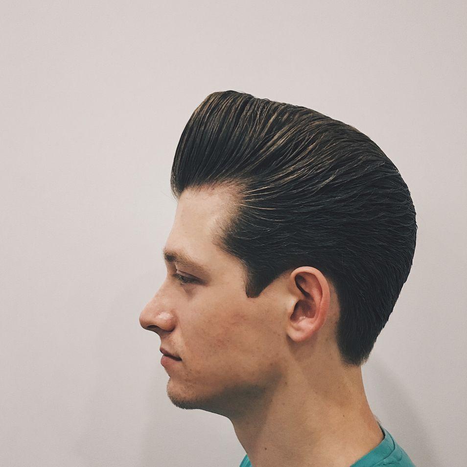 Mens military haircut mbarbershop reuzel reuzelpink classichaircut mwb reuzel