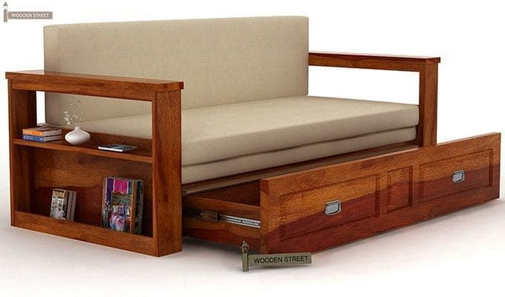 20 Modern Sofa Bed Designs With Storage Sofa Bed Design Wooden