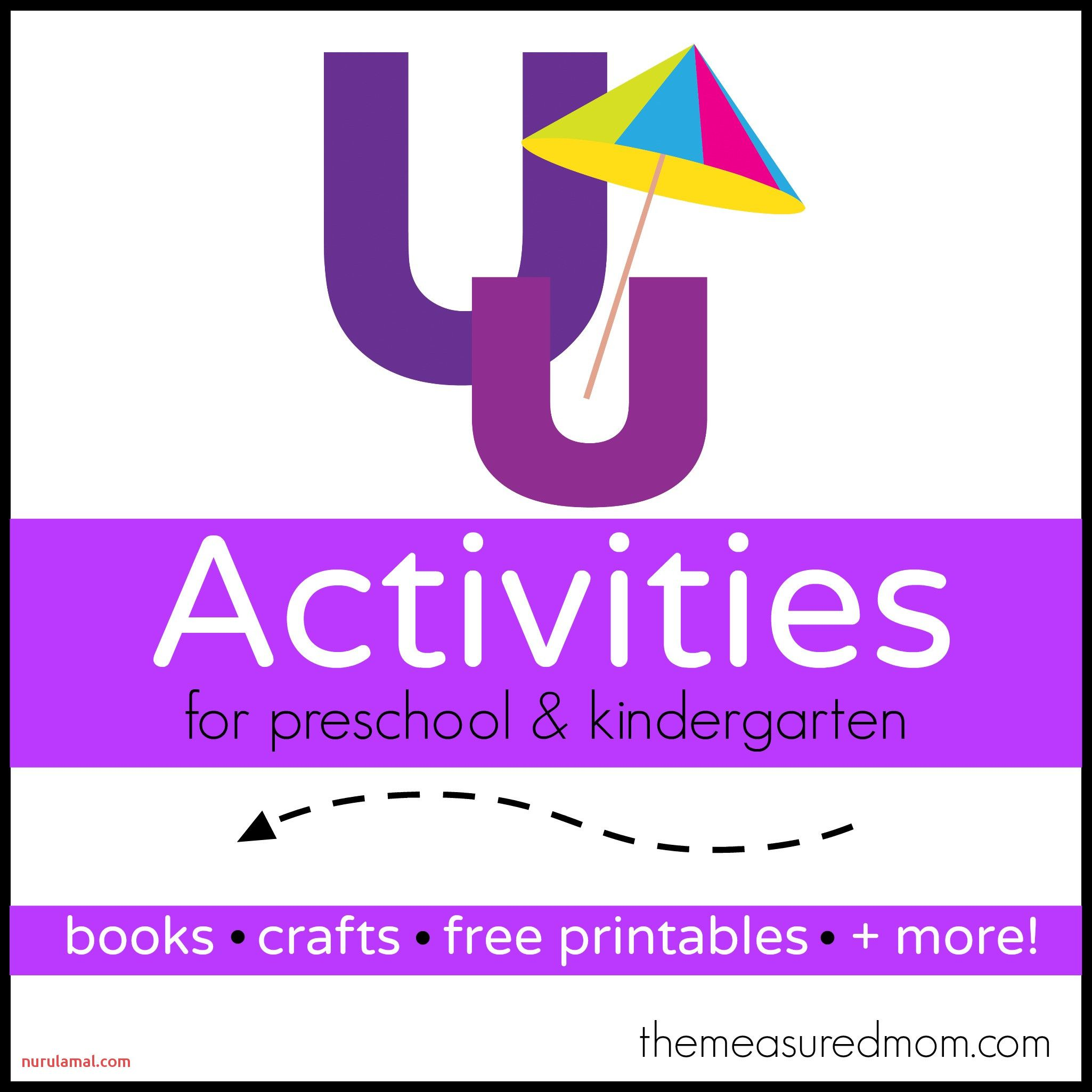 Preschool Letter U Printable Worksheets In