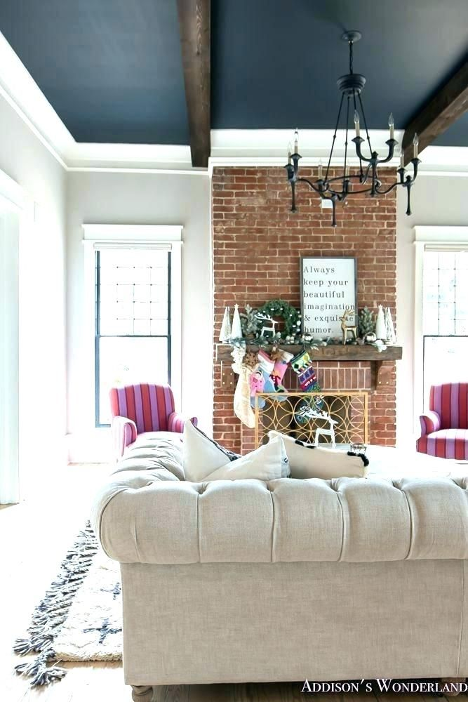 Image result for decorating red brick fireplace in 2020 ...