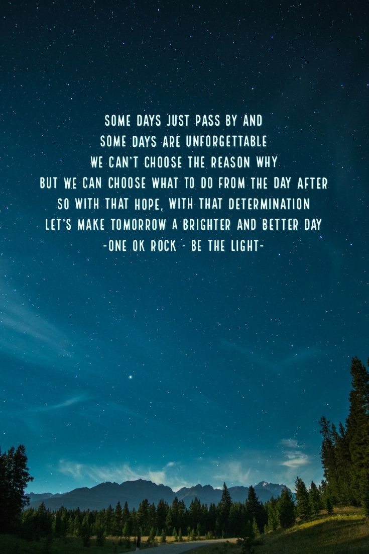 One Ok Rock Lyrics : lyrics, LIGHT, ワンオク, 歌詞,, 壁紙,, ワンオクロック
