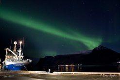 Trawler in Lofoten by Eric Fokke