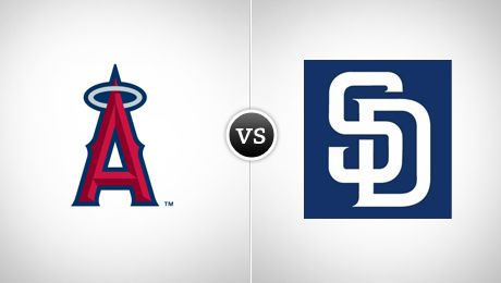 Los Angeles Angels of Anaheim vs. San Diego Padres Petco