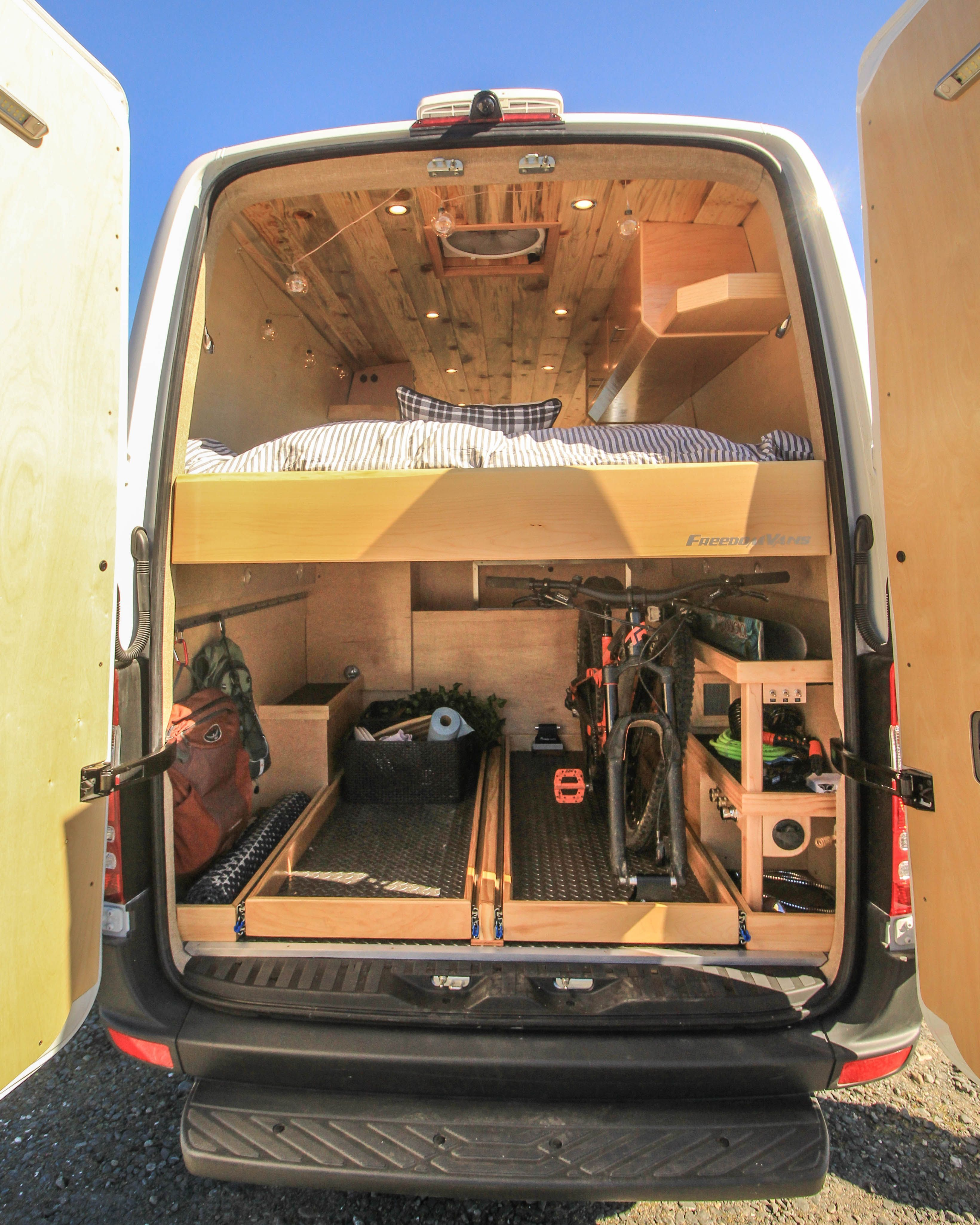 "Photo of garage ideas storage #garageideasstorage ""Apollo"", built for the vanlifer who wa…"