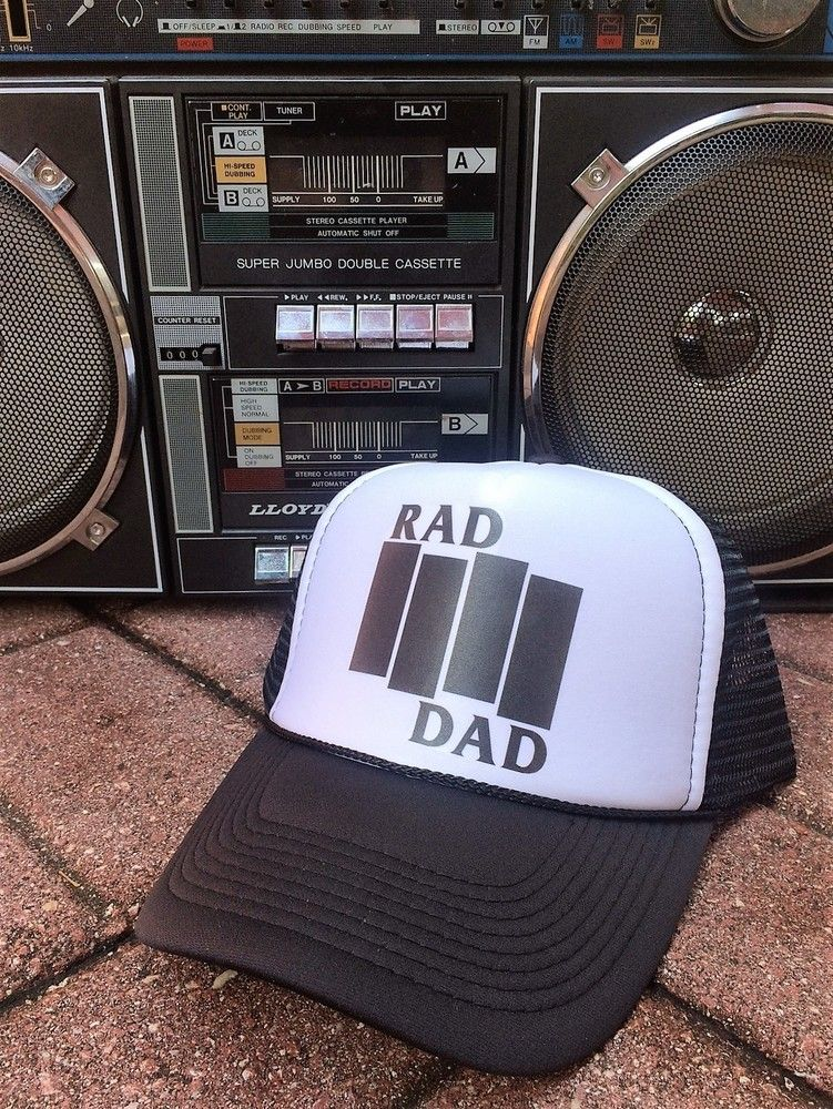 Everyone is loving our new RAD DAD Black Flag inspired logo that we decided  to slap 95d1141cfa4f