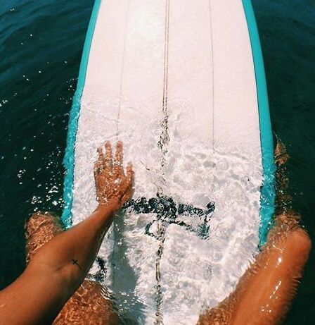 A Day In The Water Floating On A Surf Board Heavenly Surfing Summer Vibes Surfs