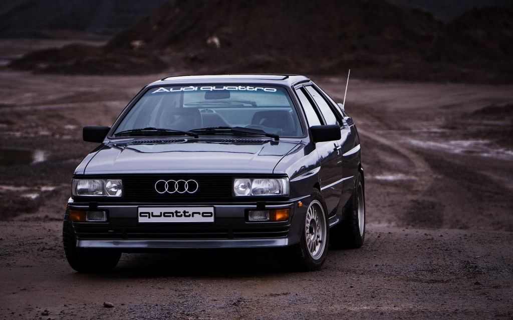 There's something about a stupid clean, totally 80s Audi that I just love.