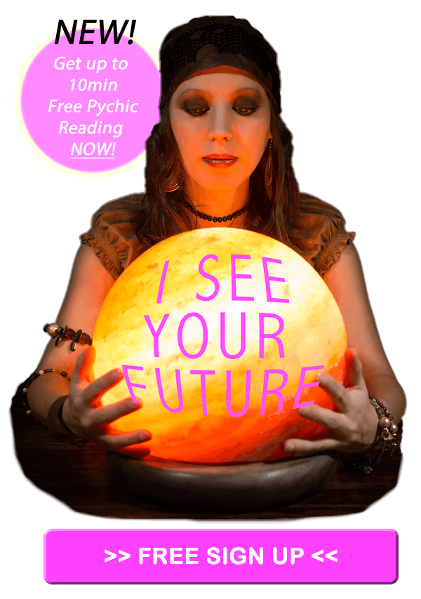39% Off Rest of Chat After Free 5 Minute Psychic Reading from