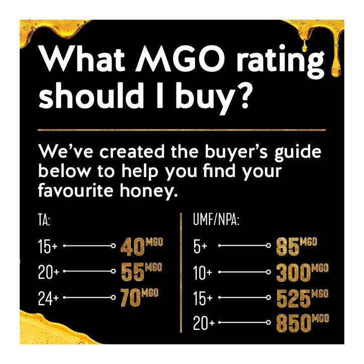 Pure Gold Premium Select Manuka Honey MGO 850 250g Honey