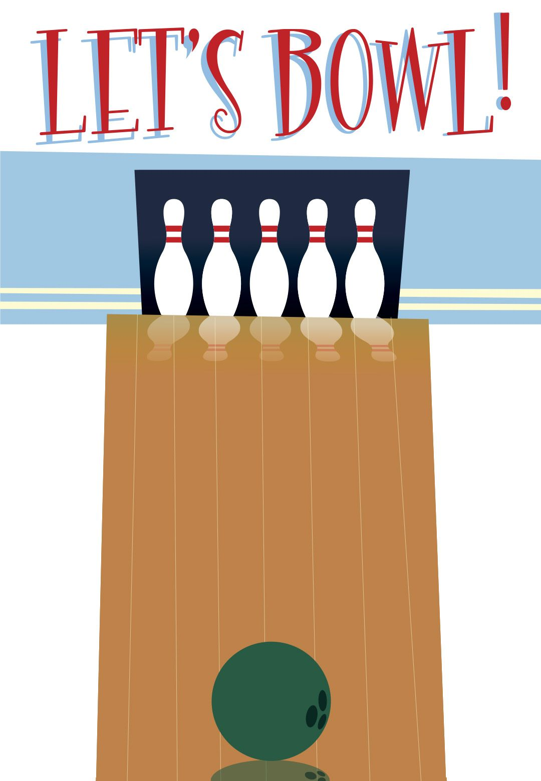 Free Printable Bowling Party Invitation Super Cute For