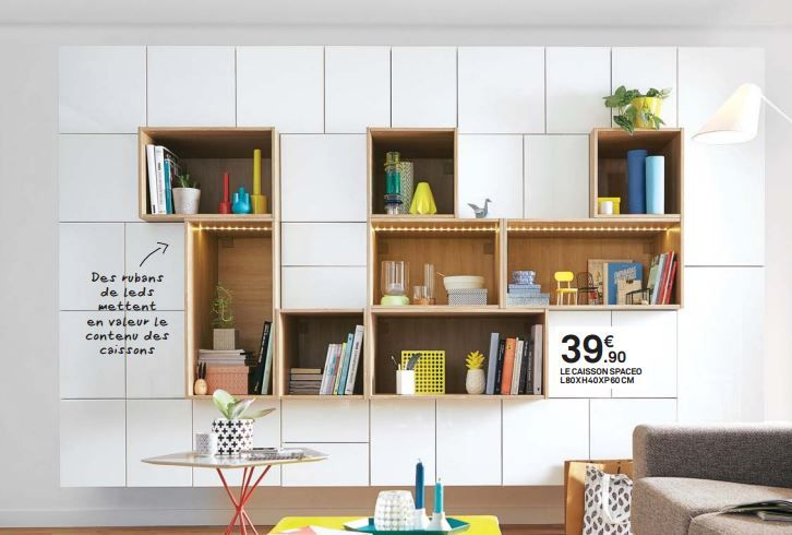 Mur De Placards Spaceo Leroy Merlin Shelving And Storage In 2018