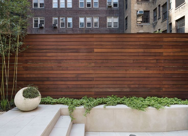U201cUrban Backyards Are Great Canvases For Minimalist Gardens Because They Can  Become Quiet And Enclosedu2026