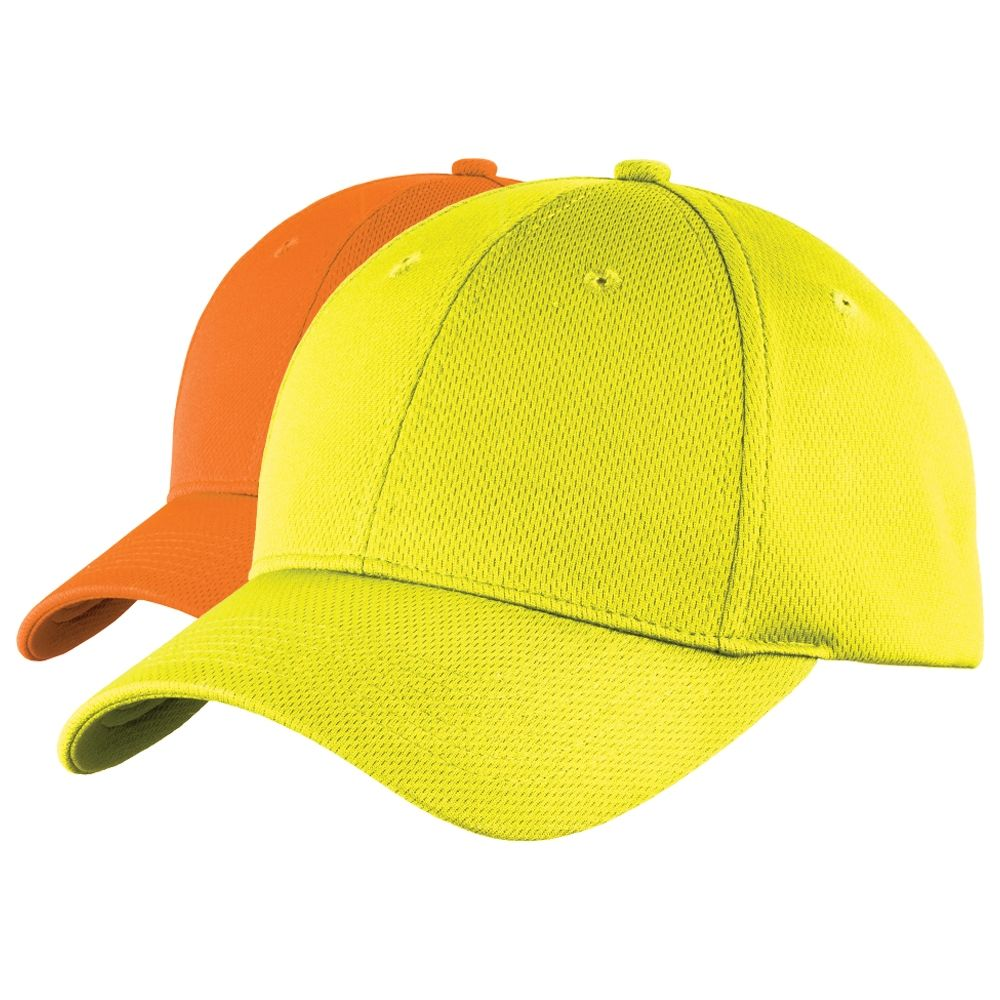 Sport Tek Safety Moisture Wicking Ball Cap Ball Cap Moisture Wicking Shirt Cap