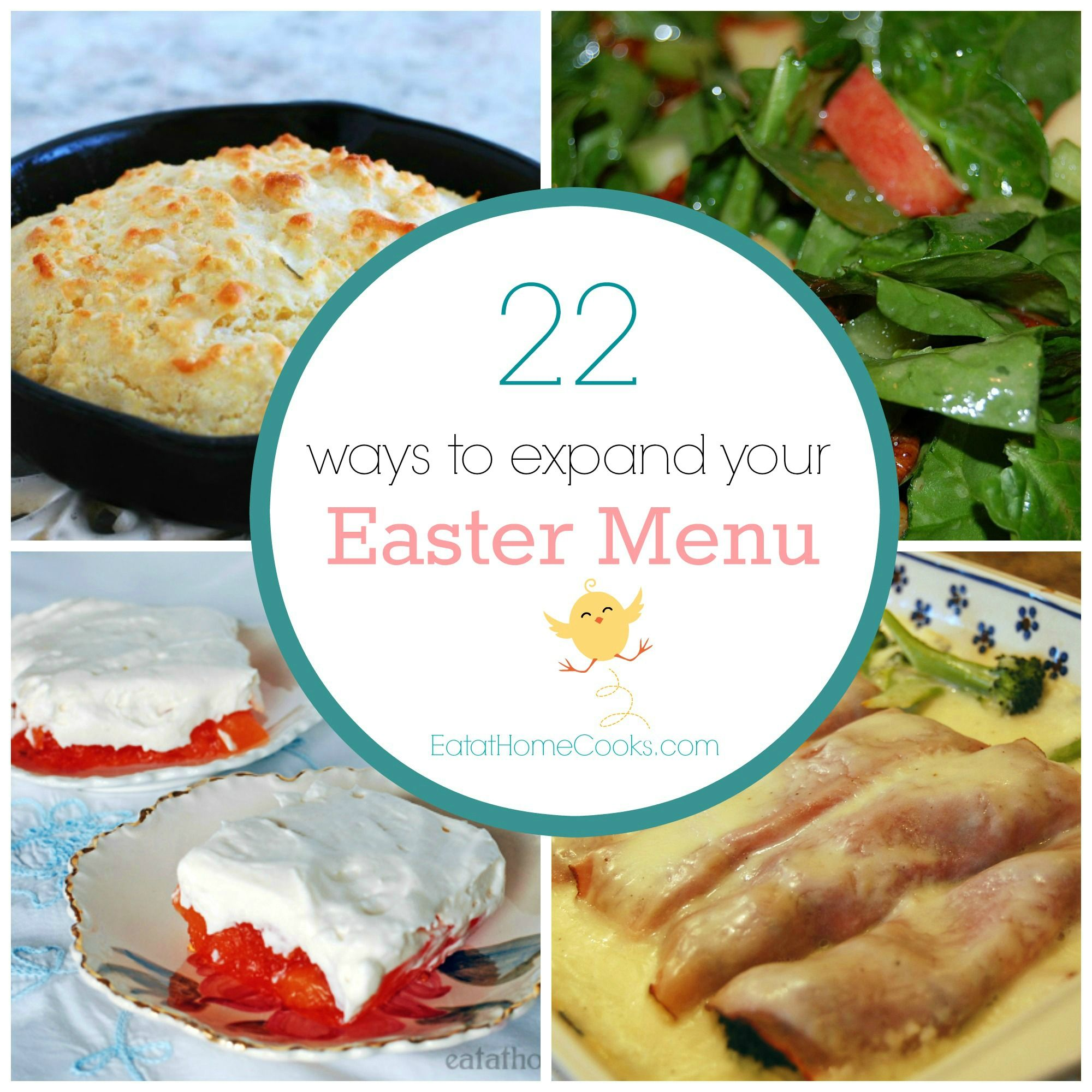 22 ways to expand your easter menu easter menu and easter dinner