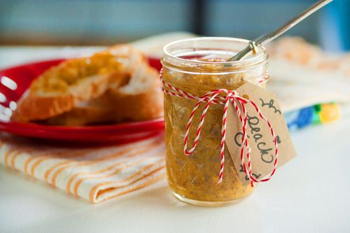 Peach-Ginger Jam | The Heart's Kitchen