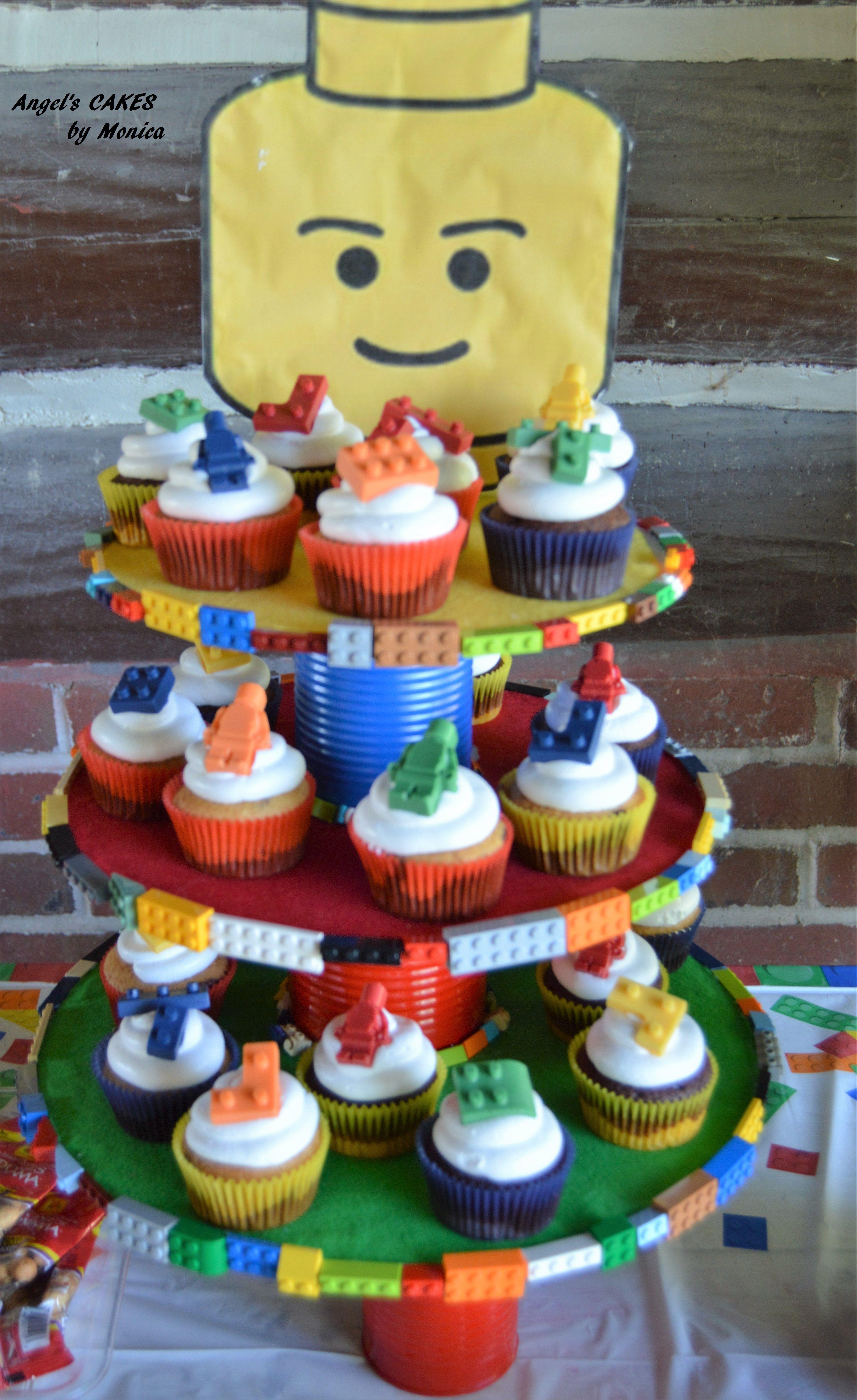 Cupcakes y base de legos bases para cupcakes - Bases para cupcakes ...
