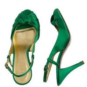 Emerald Green Evening Shoes