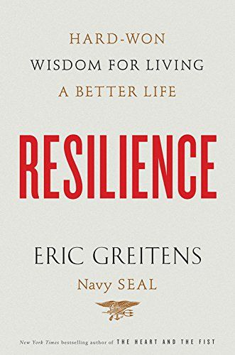 """Resilience"" by Eric Greitens  An insightful and thoughtful book that left me wanting to try harder at living well and helping others!  www.mytributejournal.com"
