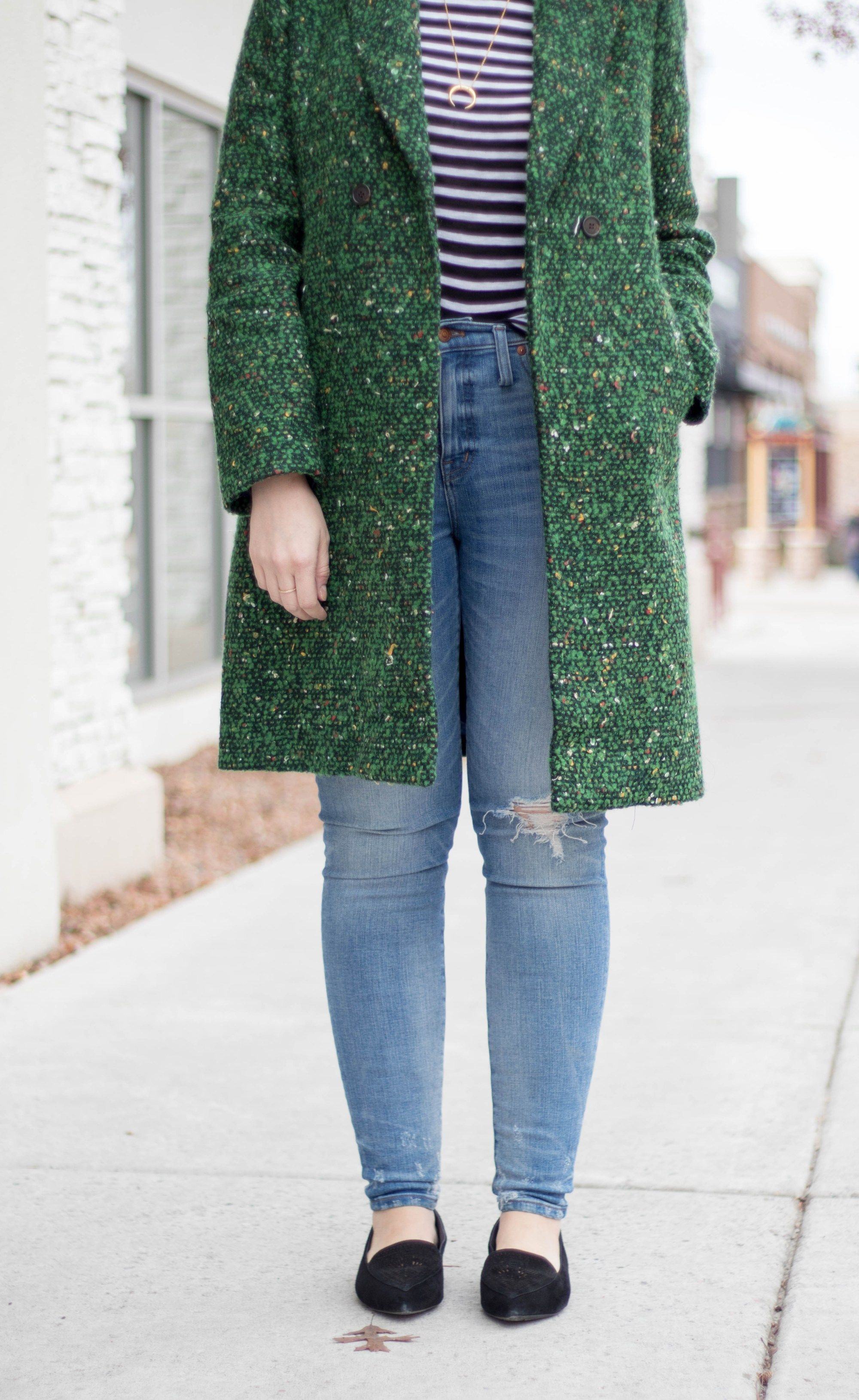 Winter Style: All Legs and Gucci Belt | Brooklyn Blonde