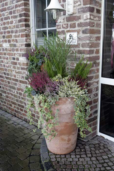 Galerie: Garten Und Terrasse - Heidetrends | Garten | Pinterest ... Pflanzen Topfen Kubeln Terrasse
