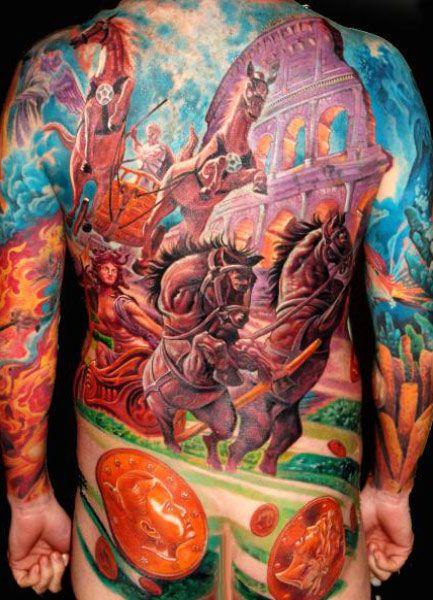 Warriors Tattoo By Boris Tattoo Post 1724 Warrior Tattoo Tattoos Back Tattoo