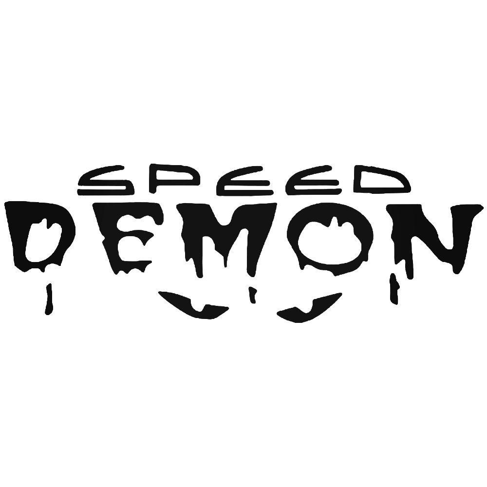 Speed demon jdm japanese vinyl decal sticker ballzbeatz com
