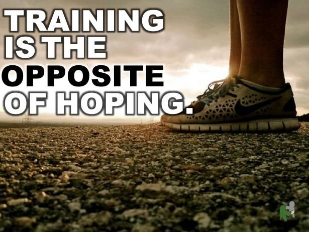 Stop hoping and do something