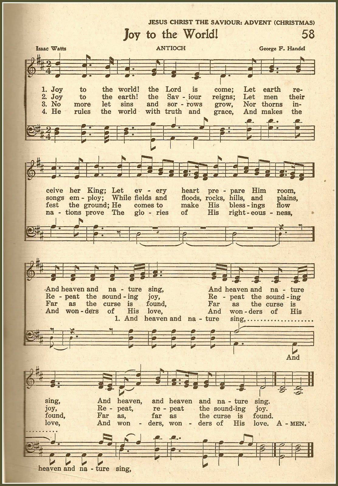 Oy To The World Is Such An Exuberant Hymn Written By Isaac Watts In The S It S Amazing