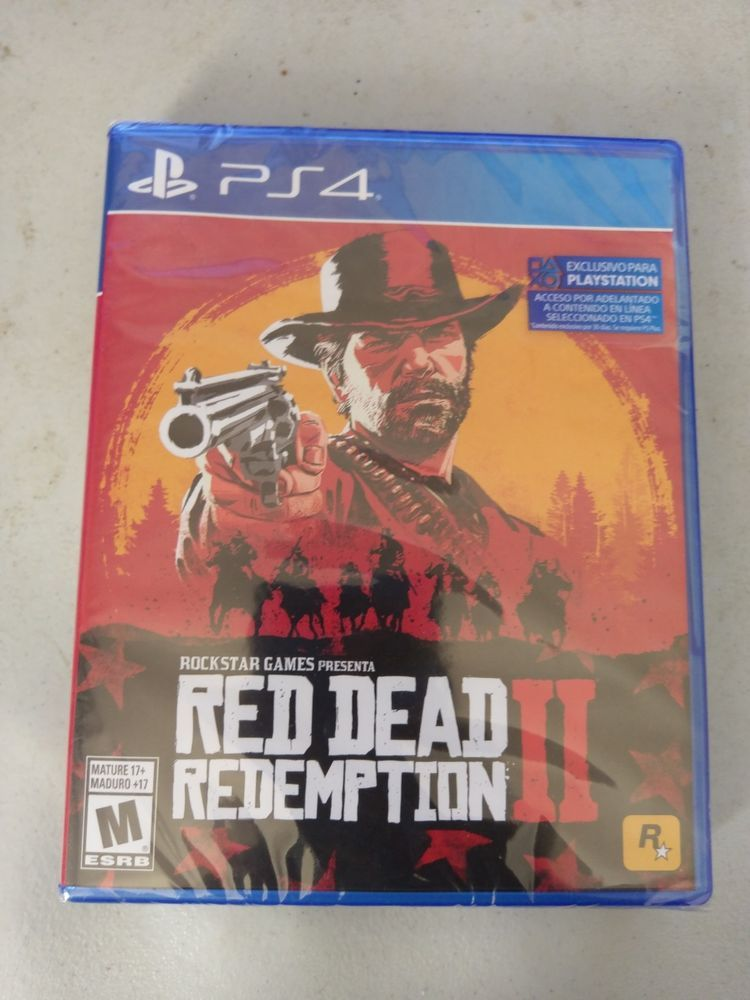 Red Dead Redemption 2 - PlayStation 4 IMPORT English/Spanish (Works