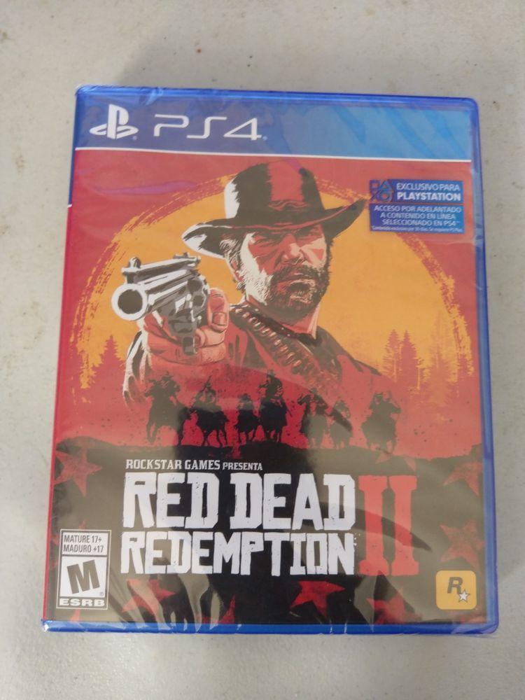 Red Dead Redemption 2 Playstation 4 Import English Spanish Works In Usa Red Dead Redemption Red Dead Redemption Ii Rockstar Games