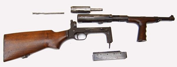 marlin ud42 | United Defense UD M42 submachine gun (USA)