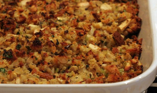 Buttermilk Cornbread And Sage Stuffing Recipe Stuffing Recipes Cornbread Stuffing Recipes Herb Stuffing