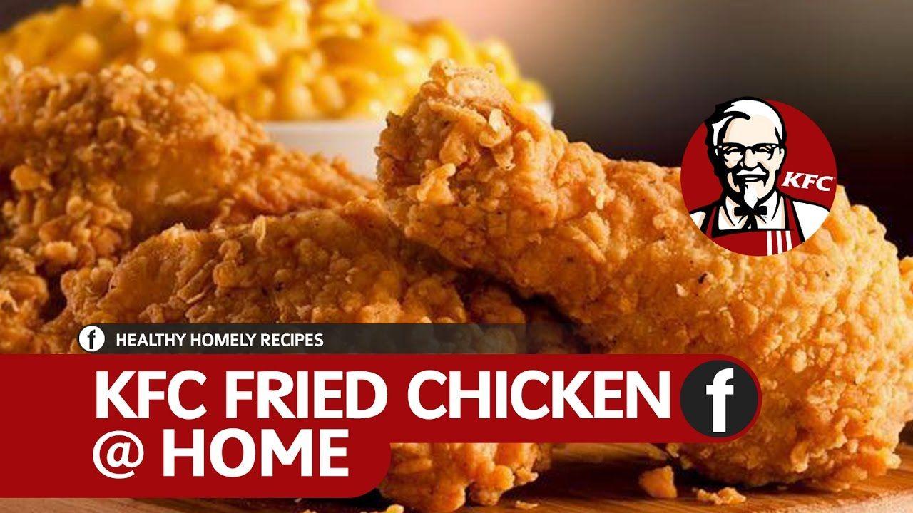 How To Make KFC Fried Chicken  Crispy Spicy Fried Chicken Recipe