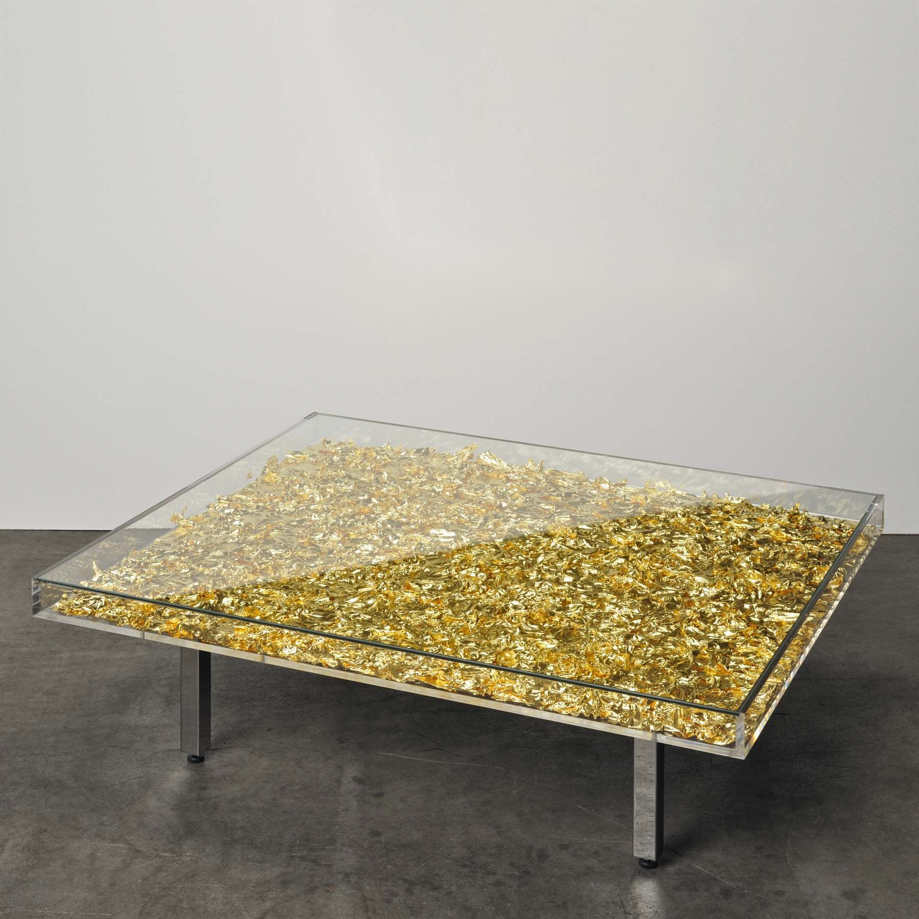 Yves Klein Table D Or Weng Contemporary