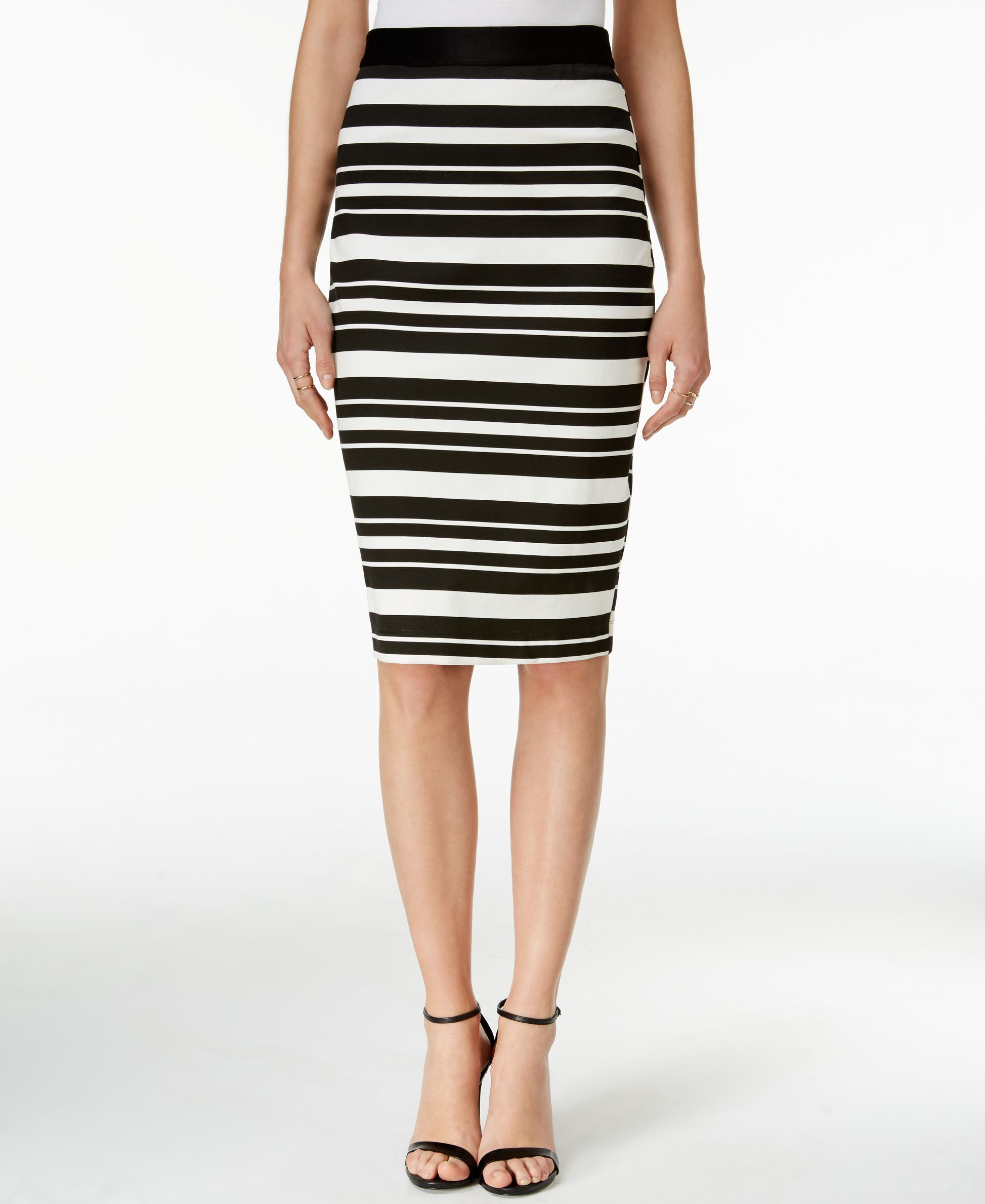 f6d0748797 Bar Iii Striped Pencil Skirt, Only at Macy's | Products