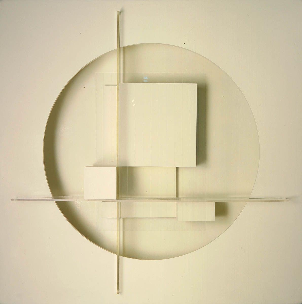 Theodore Roszak: Construction in White, 1937 - wood, masonite ...