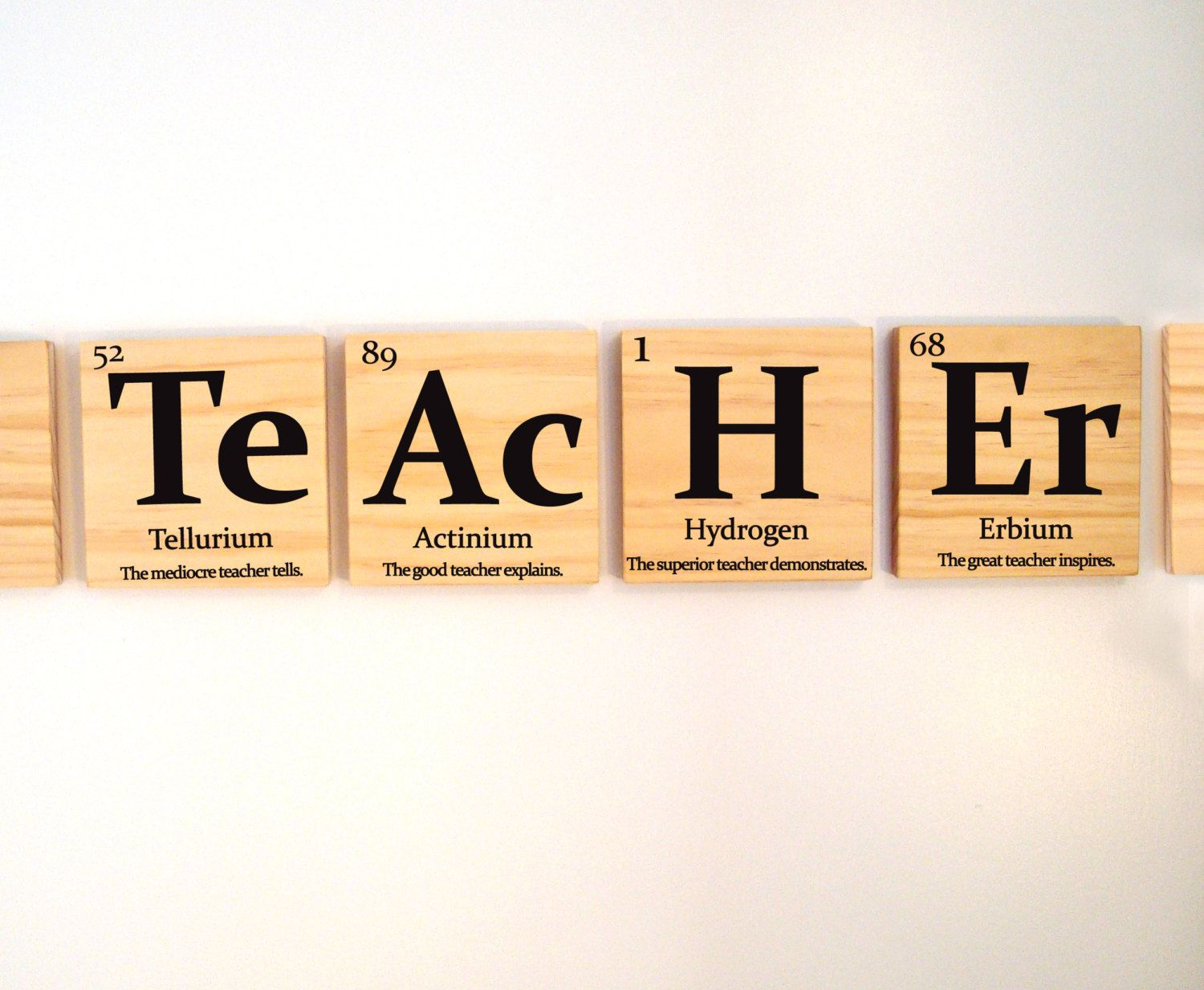 Teacher Gift Periodic Table Of Elements Teacher Etsy In 2020 Science Teacher Gifts Science Teacher Quotes School Teacher Gifts