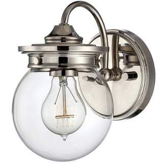 "View the Savoy House 8-232-1 Downing 8.5"" Tall 1 Light Bathroom Sconce at Build.com."