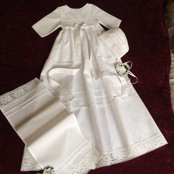 Christening robe, girl, boy, 3-piece, vintage style, made of linon with old bobbin lace, dress length 70cm-100cm selectable.    Die Wahl von taufkleidern für Kinder / für Kinder ist / ist definitiv / ist seit langem eine ... #70cm100cm #baby #Baptism #bobbin #boy #christening #dress #girl #Gown #lace #Length #linon #parts #selectable #Style #Taufkleid #taufkleid baby #taufkleid junge #taufkleid junge katholisch #taufkleid mädchen baby #taufkleider mädchen #taufkleidung junge baby #Vintage