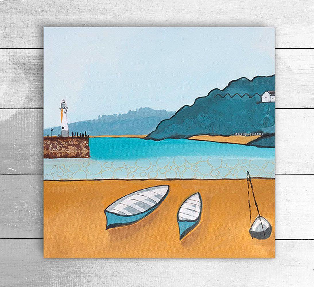Original acrylic and mixed media painting wall canvas wall art