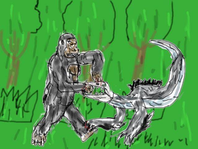 Image result for king kong sketch