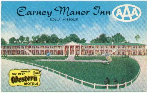 Carney Manor Inn Rolla Missouri Member The Best Western Motels Aaa