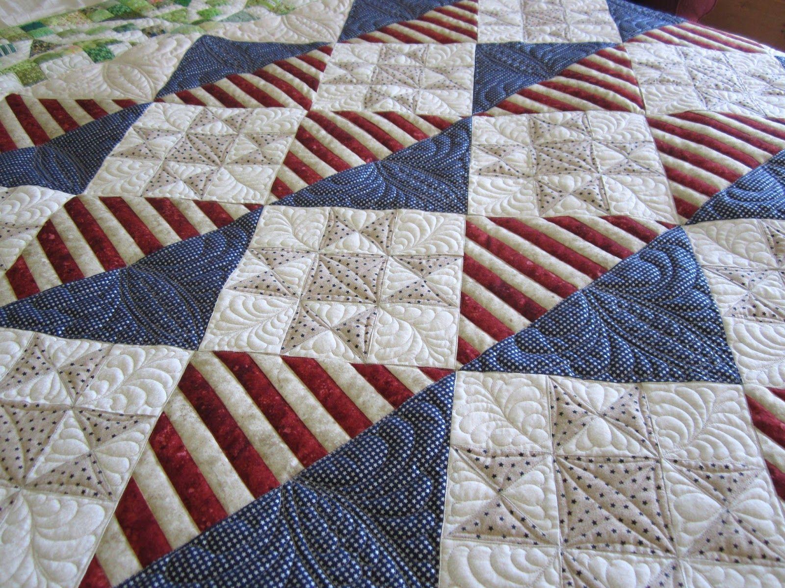 Free Big Block Quilt Patterns ... fonsandporter com articles in honor of patriotic quilt of ...