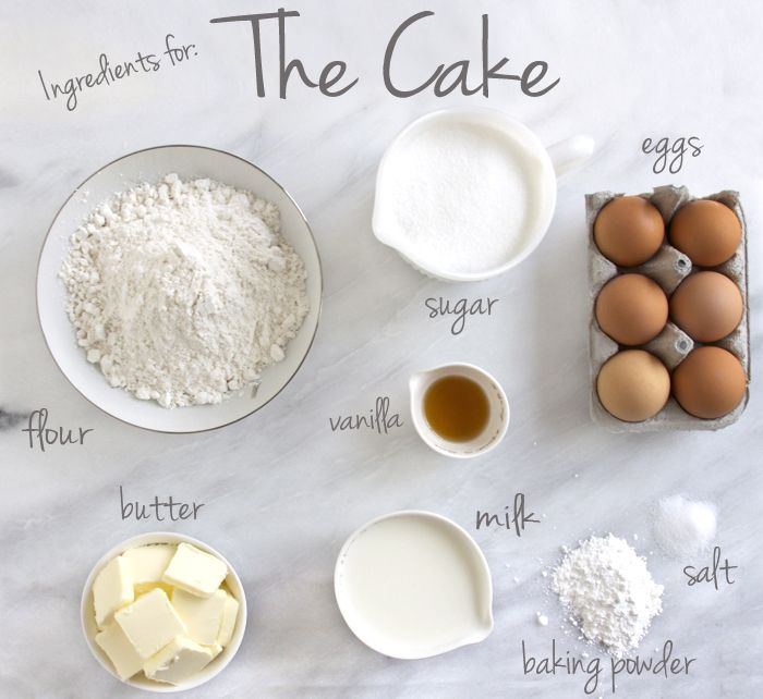 Ingredients Needed To Make A Chocolate Sponge Cake