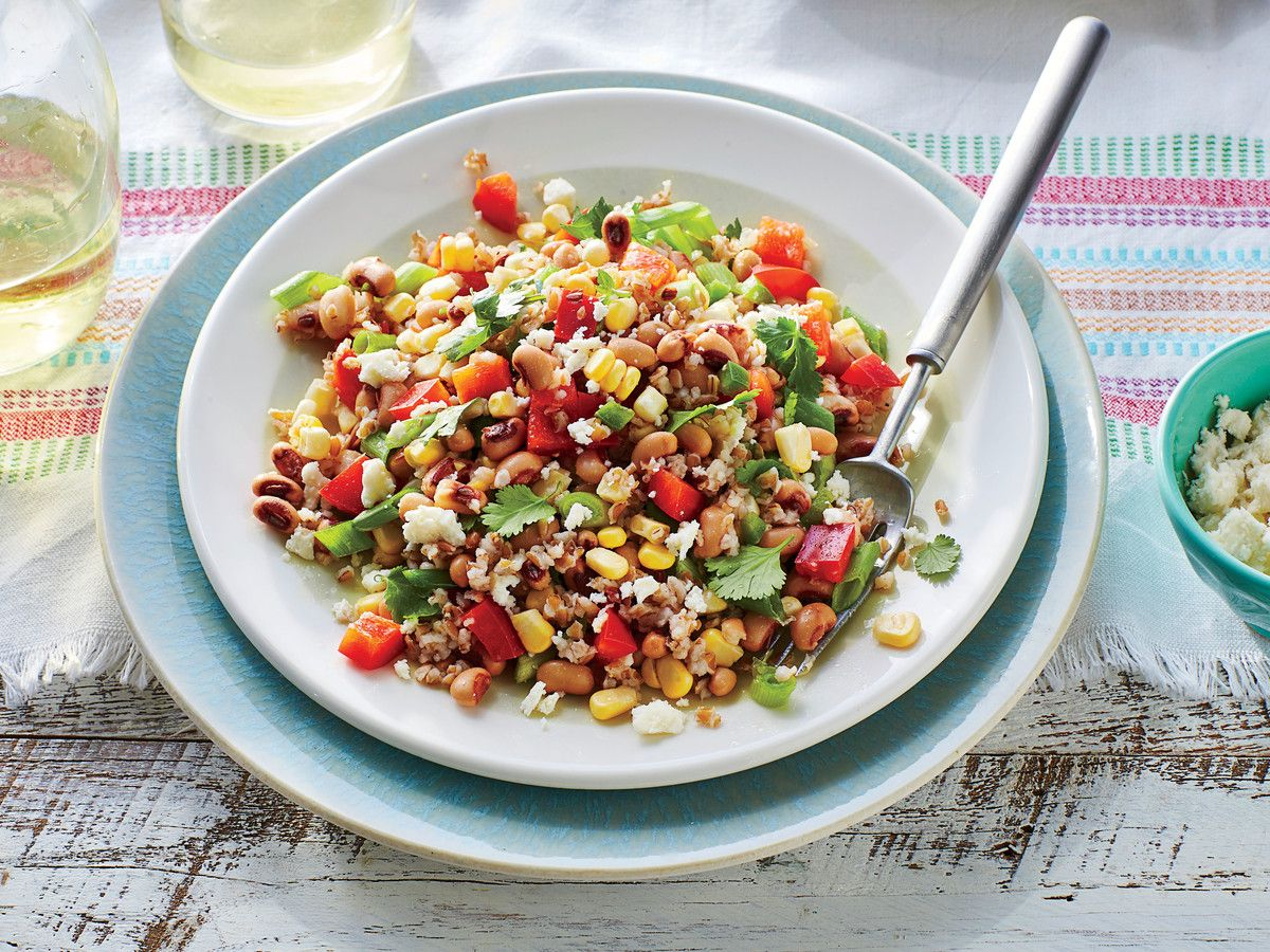 Black-Eyed Pea and Grain Salad Recipe
