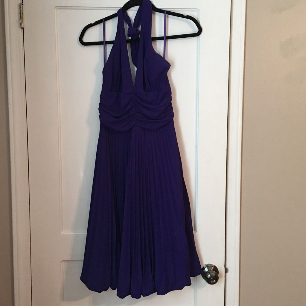 Semi formal purple halter dress products