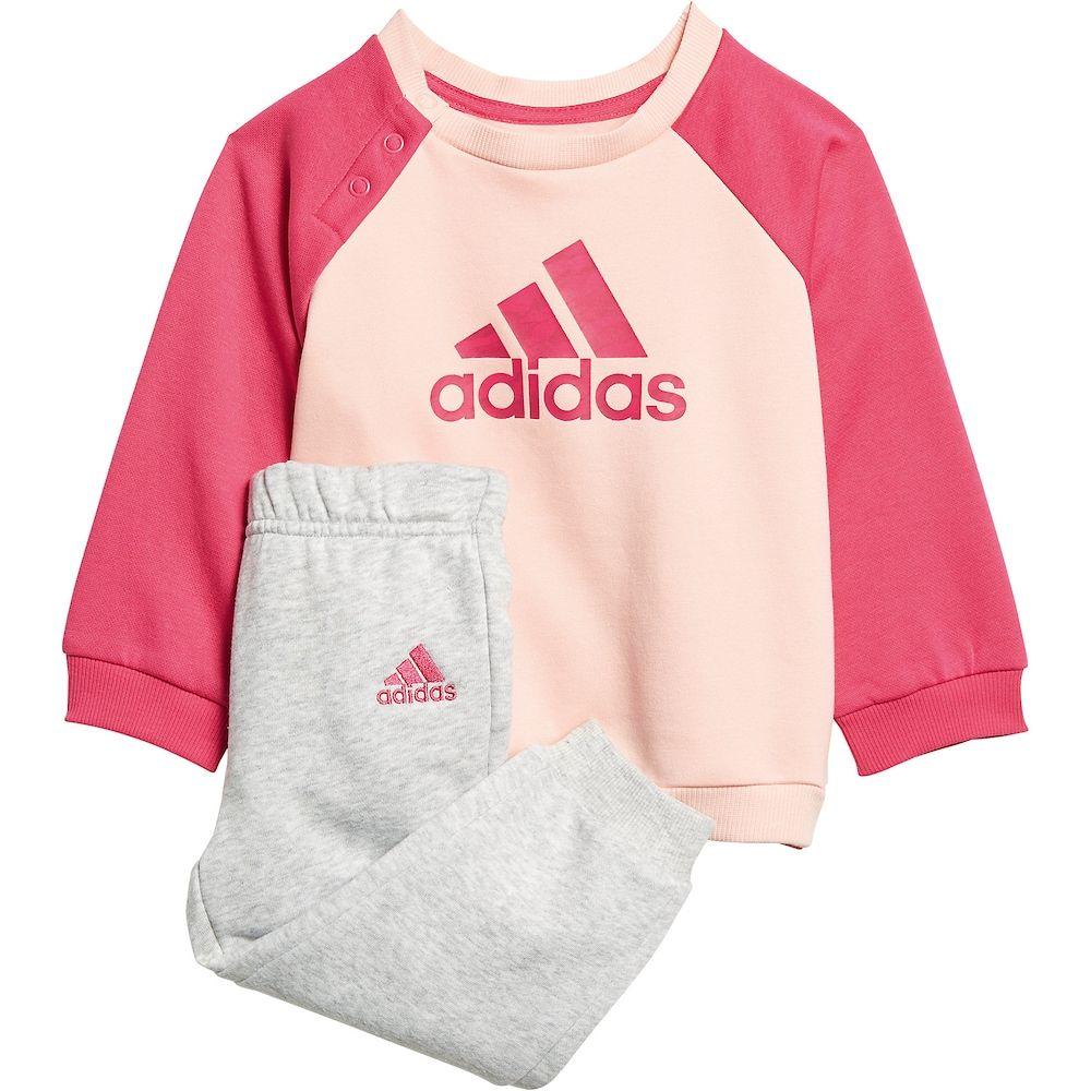 adidas Performance M/ädchen Baby Jogginganzug Hooded Dress Set
